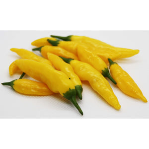 Isolerte Aji Lemon Drop (Hot Lemon) Chilifrø