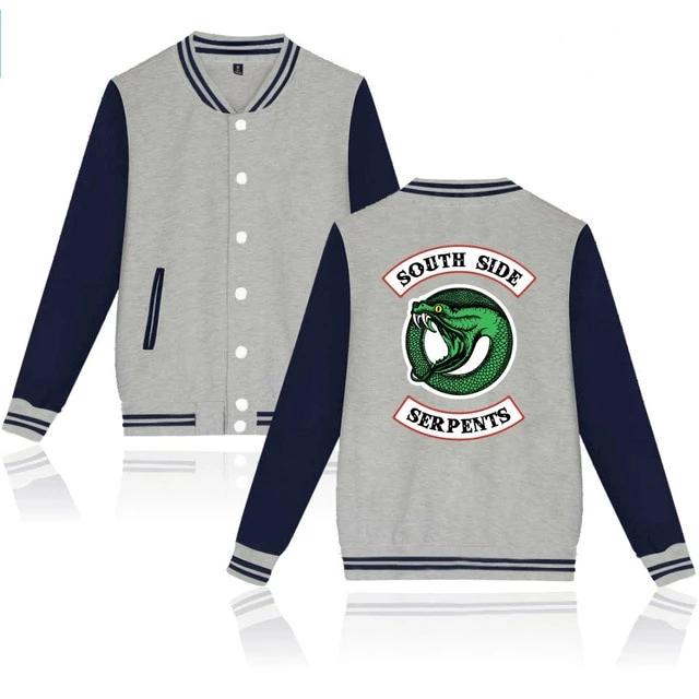 "Blusa College - Riverdale ""SOUTH SIDE SERPENTS"""