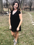 """Little Black Dress"" Sleeveless Tunic Dress - Final Sale"