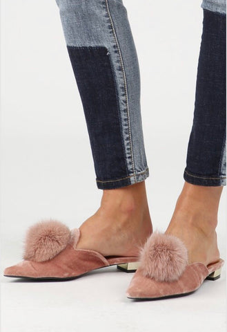 Dawlin' Suede Loafers - Millennial Pink