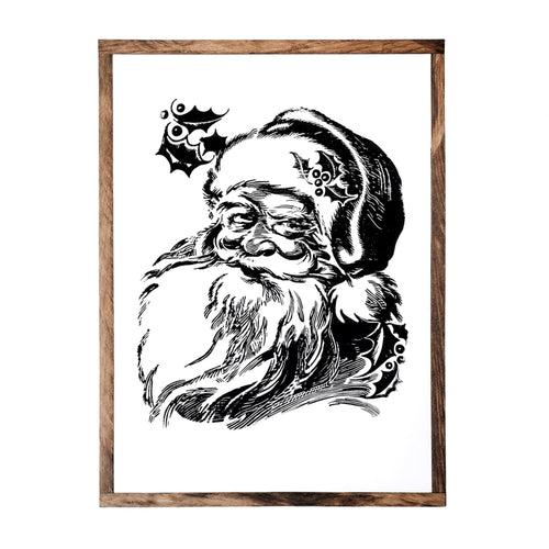 Santa Claus | Wood Sign |