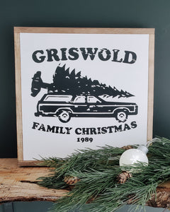 Griswold Family X-Mas | Wood Sign |