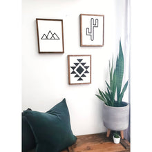 Cactus  » Wood Sign «
