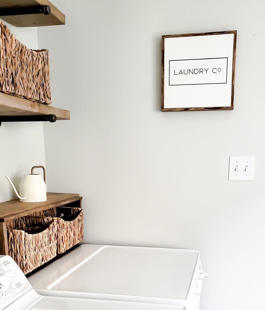 Laundry Co | Wood Sign |