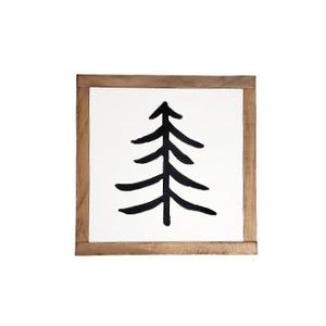 Simple Tree Mini | Wood Sign |