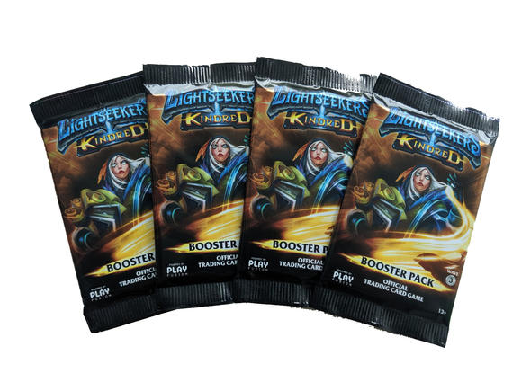 Lightseekers Booster Packs - Set of 4 - Kindred