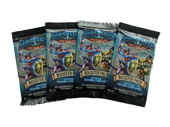 Lightseekers Booster Packs - Set of 4 - Mythical