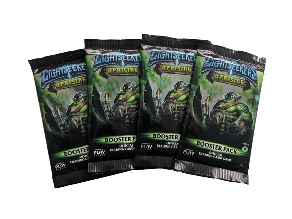 Lightseekers Booster Packs - Set of 4 - Uprising