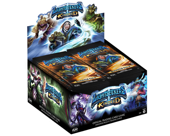 Lightseekers Booster Packs - Kindred - Display of 24