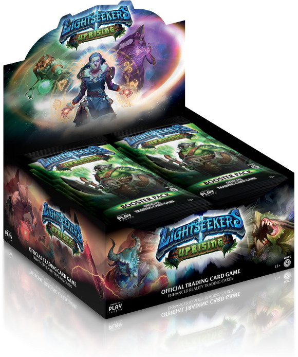 *NEW* Lightseekers Booster Packs - Uprising - Display of 24