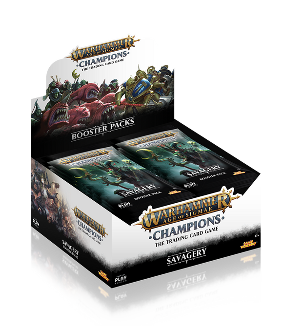 Warhammer Champions - Booster Display of 24 - Savagery