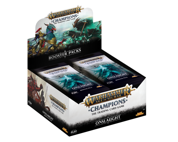 Warhammer Champions - Booster Display of 24 - Onslaught