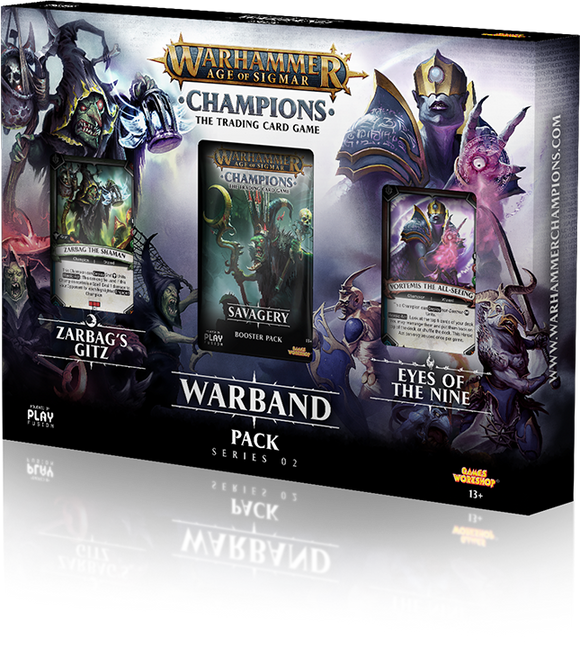 Warhammer Champions - Warbands #2 (Chaos v Destruction) - Wholesalers