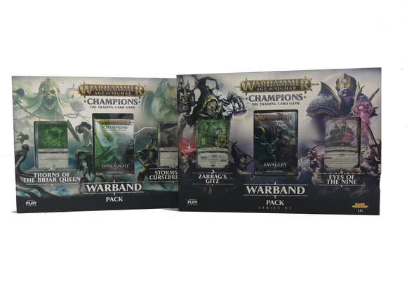 *Special Offer* Buy Warband 2 get Warband 1 half price - Wholesalers