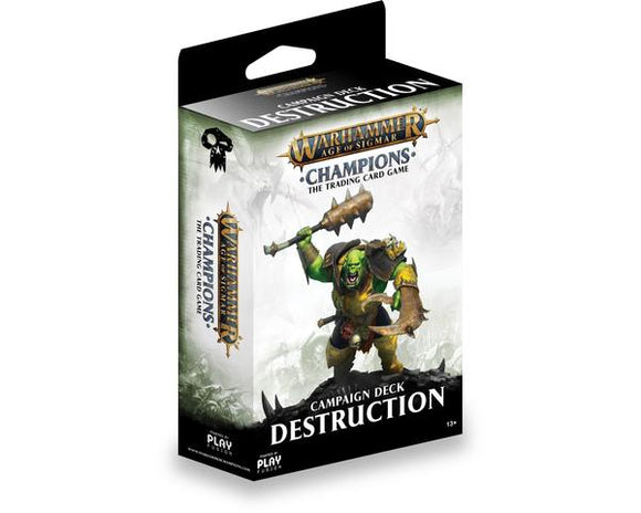 Warhammer Champions - Campaign Deck - Destruction