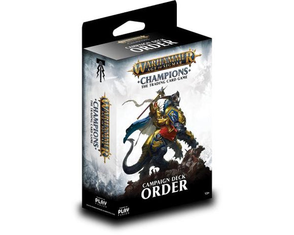 Warhammer Champions - Campaign Deck - Order