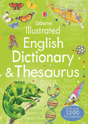 Illustrated English Dict & Thesaurus
