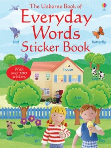 Everyday Words in English - Sticker Book