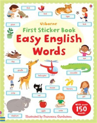 Easy English Words - First Sticker Book