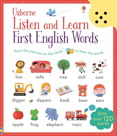 Listen & Learn: First English Words
