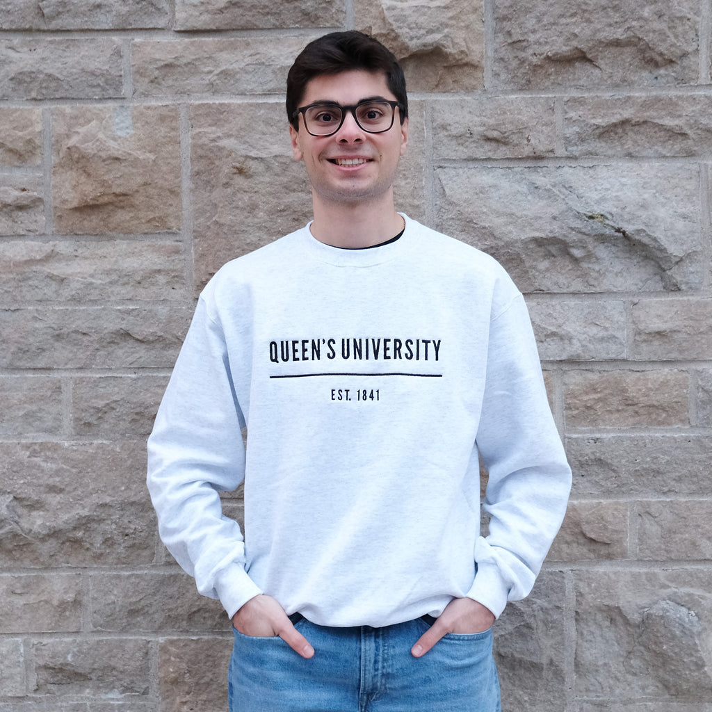 Queen's University Champion Crewneck - Premium