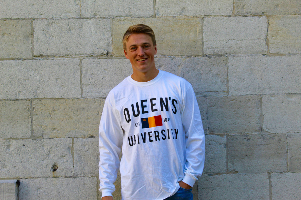 Queen's University Flag Long Sleeve