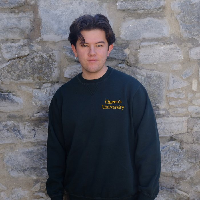 Queen's University Redwood Crewneck