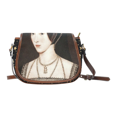 Anne Boleyn Unicorn Saddle Bag
