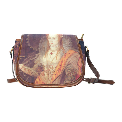 Elizabeth I Rainbow Portrait Saddle Bag