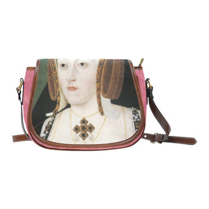 Catherine of Aragon Saddle Bag