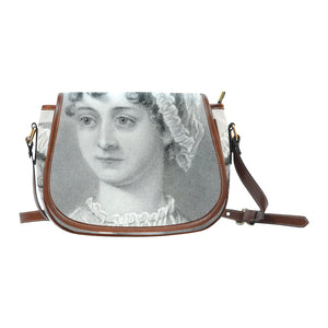 Jane Austen Saddle Bag