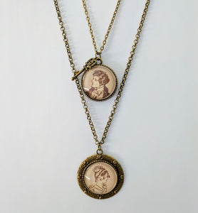 Handmade Jane Austen-Inspired Necklace