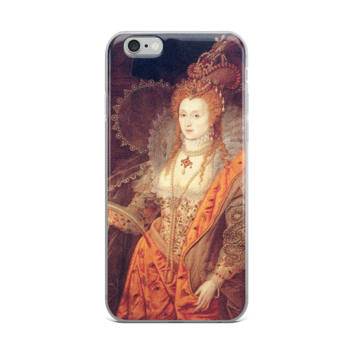Elizabeth I Rainbow Portrait iPhone Case