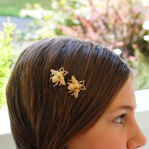Honeybee Hairpin