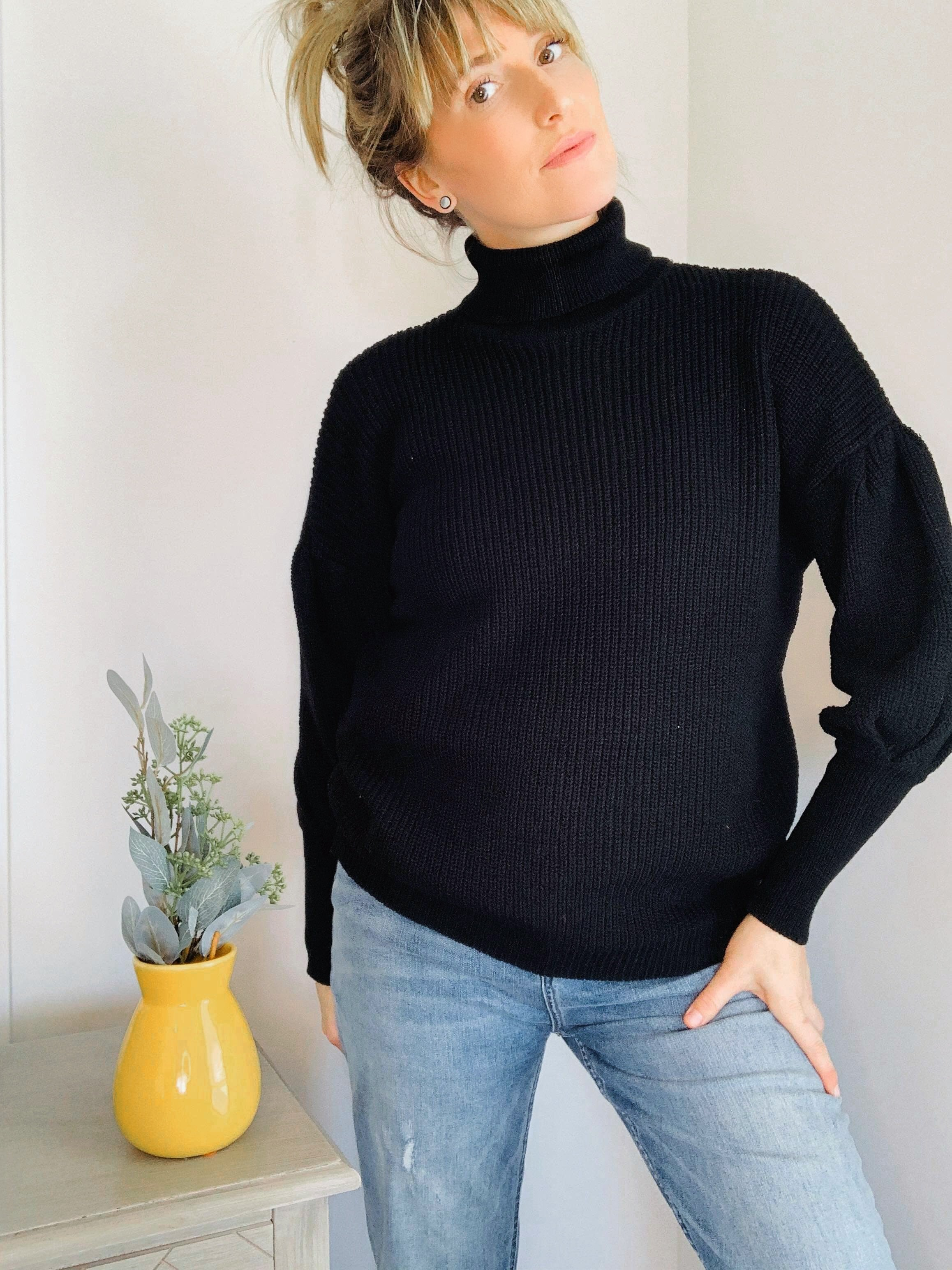 Puff Sleeve Sweater