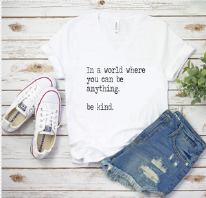 your brand. Be Kind Tee