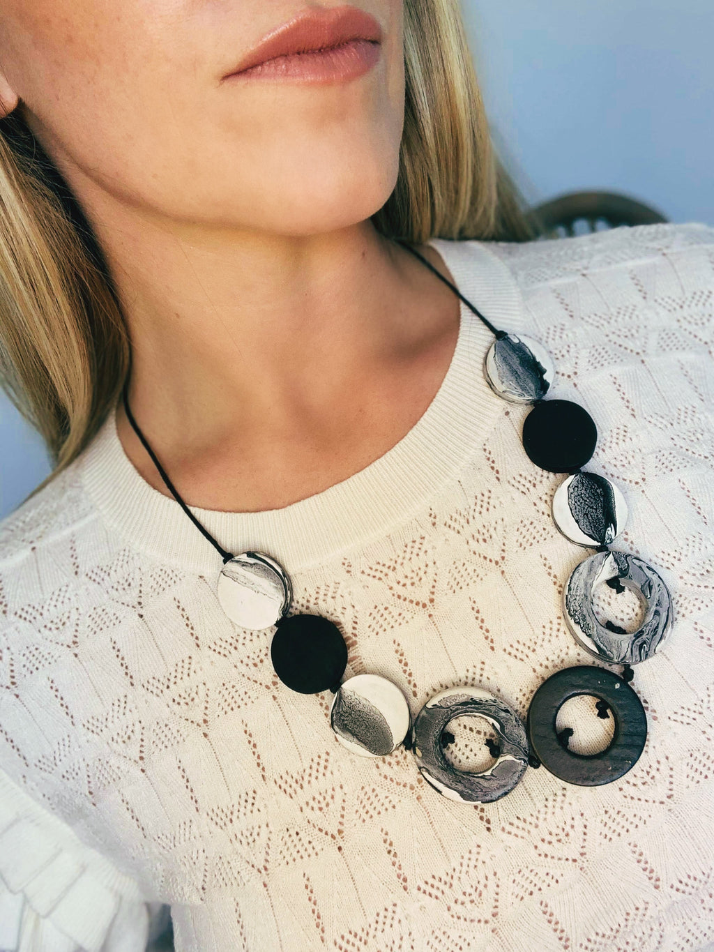 Paint Swirl Necklace