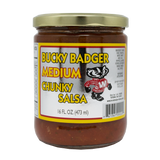 Bucky Badger Medium Salsa