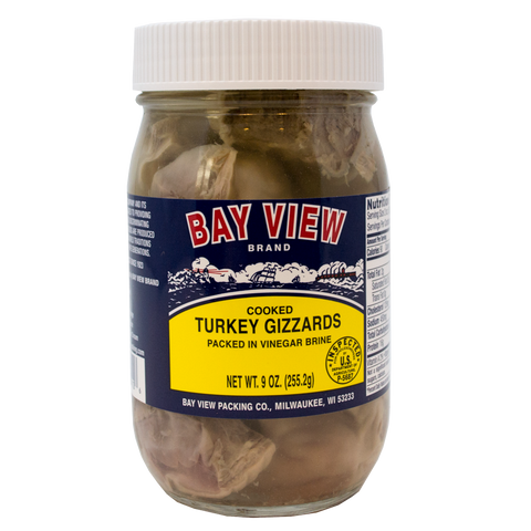 Bay View Pickled Turkey Gizzards