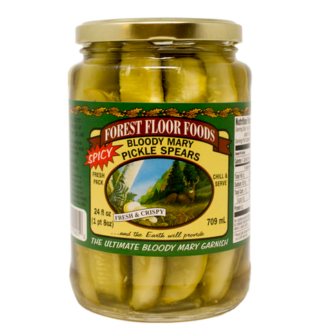 Forest Floor Bloody Mary Pickle Spears