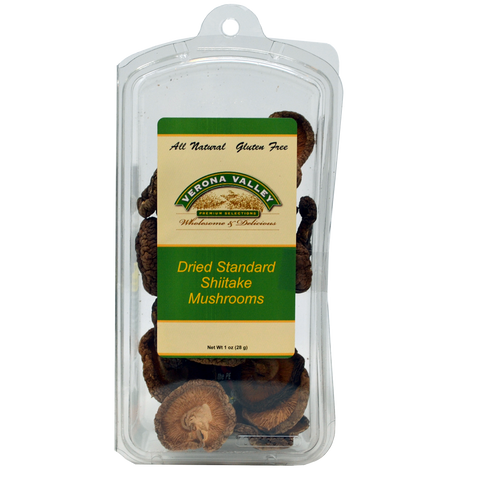 Verona Valley Standard Shiitake Mushrooms