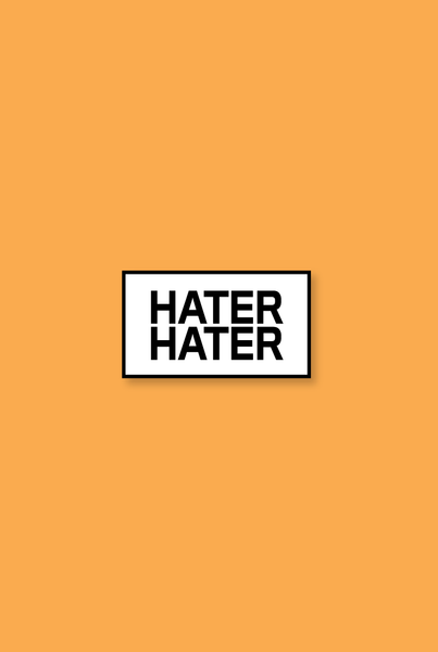 Hater Hater Enamel Pin