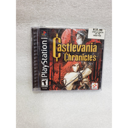 Castlevania Chronicles - PlayStation 1 (PS1) Game New (Unopened) - YourGamingShop.com - Buy, Sell, Trade Video Games Online. 120 Day Warranty. Satisfaction Guaranteed.
