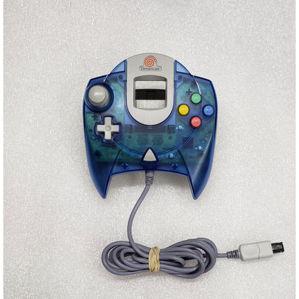 Sega Dreamcast Controller - Transparent Blue - YourGamingShop.com - Buy, Sell, Trade Video Games Online. 120 Day Warranty. Satisfaction Guaranteed.