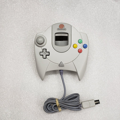 Sega Dreamcast Controller - White - YourGamingShop.com - Buy, Sell, Trade Video Games Online. 120 Day Warranty. Satisfaction Guaranteed.