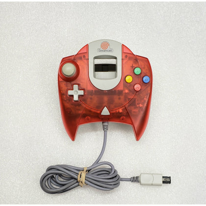 Sega Dreamcast Controller - Transparent Red - YourGamingShop.com - Buy, Sell, Trade Video Games Online. 120 Day Warranty. Satisfaction Guaranteed.