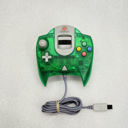 Sega Dreamcast Controller - Transparent Green - YourGamingShop.com - Buy, Sell, Trade Video Games Online. 120 Day Warranty. Satisfaction Guaranteed.