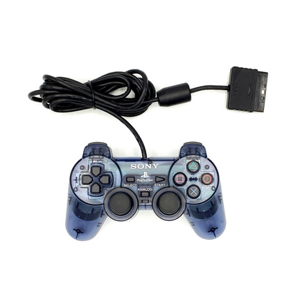 Sony PlayStation 2 DualShock 2 Analog Controller - Slate Gray (Smoke) - YourGamingShop.com - Buy, Sell, Trade Video Games Online. 120 Day Warranty. Satisfaction Guaranteed.