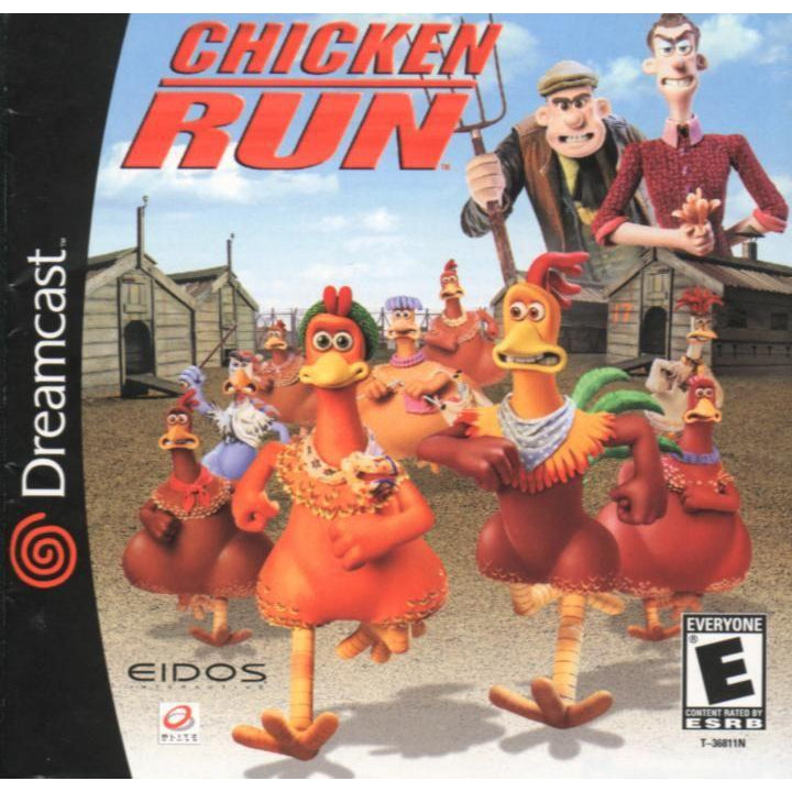 Your Gaming Shop - Chicken Run - Sega Dreamcast Game Complete