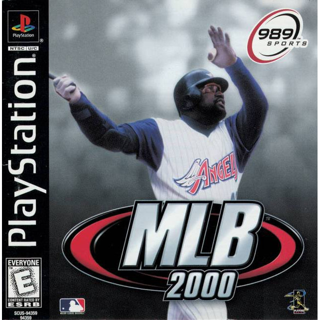 MLB 2000 - PlayStation 1 (PS1) Game Complete - YourGamingShop.com - Buy, Sell, Trade Video Games Online. 120 Day Warranty. Satisfaction Guaranteed.